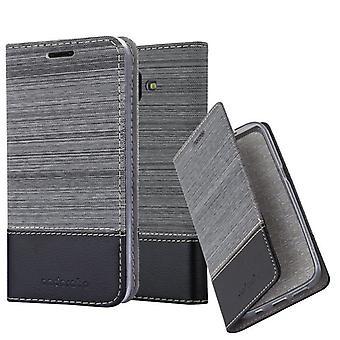 Cadorabo Hülle für Samsung Galaxy J6 PLUS Case Cover - Handyhülle mit Magnetverschluss, Standfunktion und Kartenfach – Case Cover Schutzhülle Etui Tasche Book Klapp Style