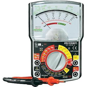 Handheld multimeter analogue VOLTCRAFT VC-2030A Calibrated to: Manufacturer standards CAT III 500 V