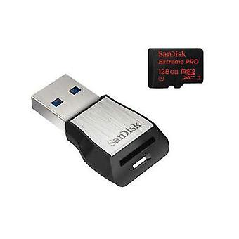 microSDHC card 64 GB SanDisk Class 10, UHS-II, UHS-Class 3 incl. USB card reader