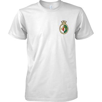 HMS Queen Elizabeth - Current Royal Navy Ship T-Shirt Colour