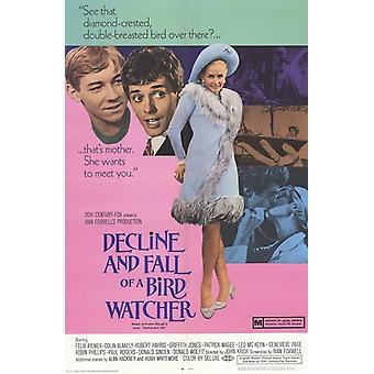 Decline and Fall of a Birdwatcher Movie Poster (11 x 17)