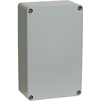 Universal enclosure 127 x 81 x 56.5 Aluminium Silver-grey (RAL 7001, powder-coated) Fibox ALN 081306 1 pc(s)