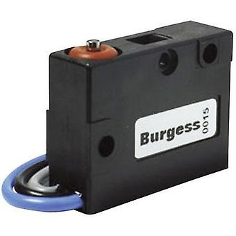 Microswitch 250 Vac 5 A 1 x On/(On) Burgess V3SY1UL IP67 momentary 1 pc(s)