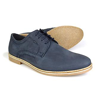Red Tape Campton Men's Navy Suede Nubuck Lace-up Casual Shoes