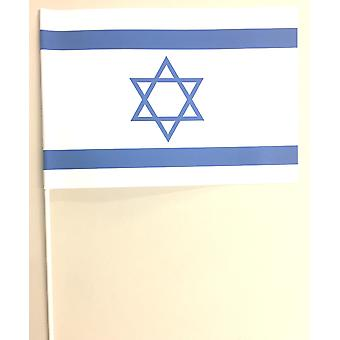 Israel Hand Held Paper Flag