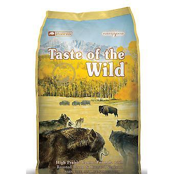 Smag af vilde hund høj Prairie stege vildt & Bison 13kg