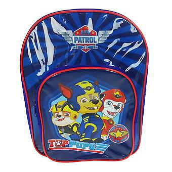 Paw Patrol Top Pups Arch Backpack With Pocket Blue 9 Litres