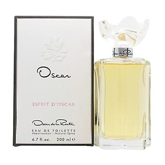 Esprit D'Oscar by Oscar De La Renta for Women 6.7oz Eau De Toilette Spray
