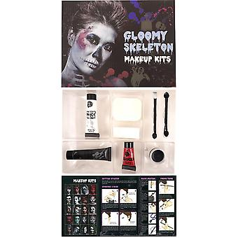 Skelett Make Up Kit