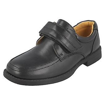 Boys Cool For School Velcro Strap Shoes N1116