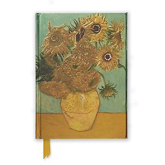 Van Gogh Sunflowers (Foiled Journal) (Flame Tree Notebooks) (Hardcover)