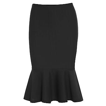 Skirt with Peplum Hem