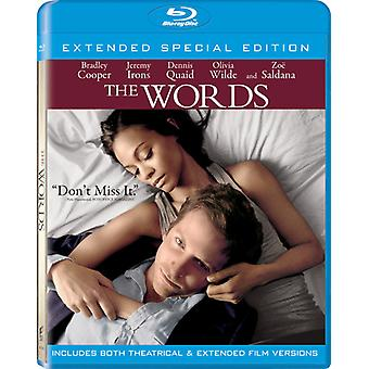 Words [BLU-RAY] USA import