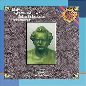 R. Schubert - Franz Schubert: Symphonies Nos. 3 & 5 [CD] USA import