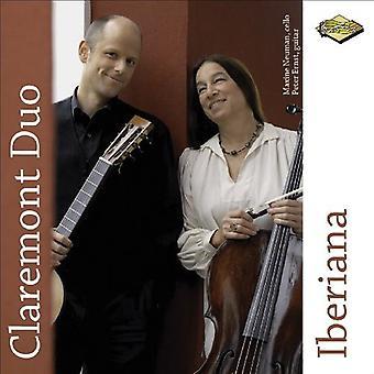 Claremont Duo - Iberiana [CD] USA importerer