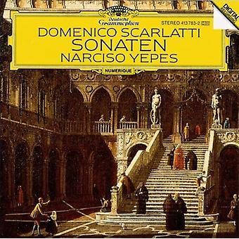 Scarlatti / Yepes - Sonatas [CD] USA import