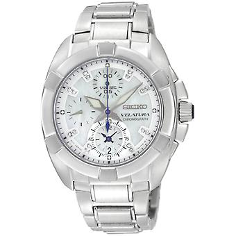 Seiko Velatura Chronograph Mens Watch SNDZ19