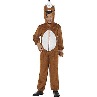 5-8 años los niños zorro traje traje de zorro