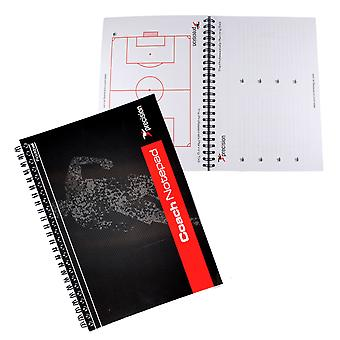 Precision Training Football Coaches Notepad A5 Size