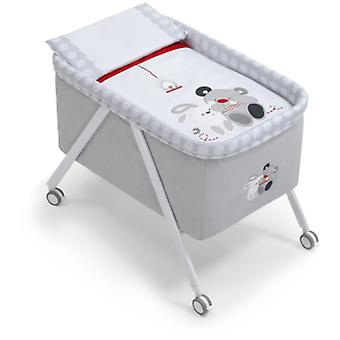 Interbaby Minicuna Aluminium Grey Grey Model Friends