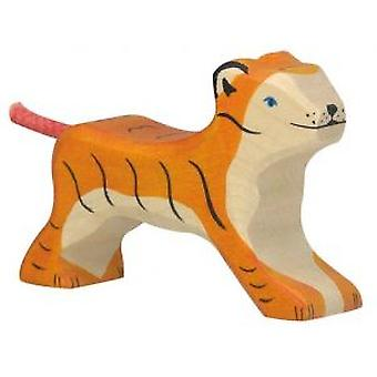 Goki Tiger, small, running (Toys , Dolls And Accesories , Miniature Toys , Animals)