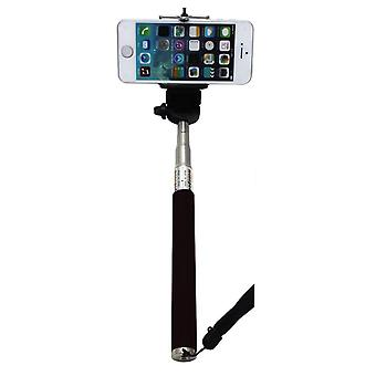 Selfie Stick Extendable Self-portrait Camera Photo Handheld Monopod