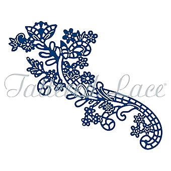 Tattered Lace Floral Lattice Flourish Die