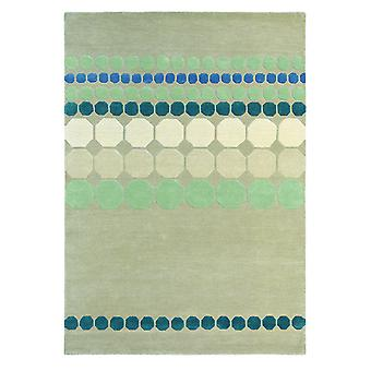 Agave Grey Wool Geometric Rugs - Ted Baker 57204