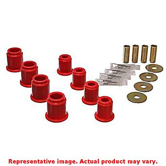 Energy Suspension 8.3115R Red Front Energy Suspension Control Arm Bushing Set F