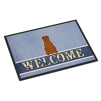 Dogue de Bourdeaux Welcome Indoor or Outdoor Mat 18x27