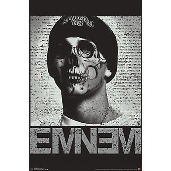 Eminem - Skull Poster Poster Print