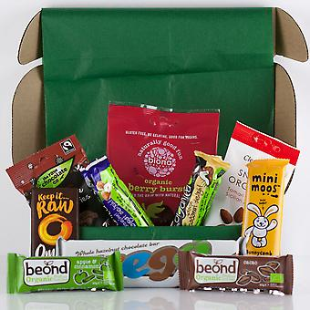 Organic Gluten-Free Vegan Snack Box - Sweet Treats - Food - Gift for Him - Gift for Her - Present