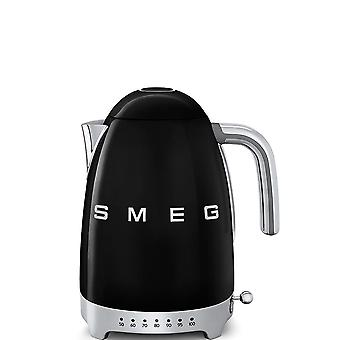 Black, 50's Retro Style Variable Temperature Kettle