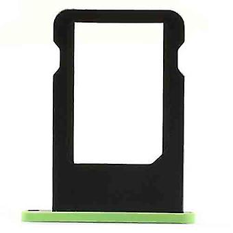 SIM-Kartenhalter für iPhone 5 c-grün