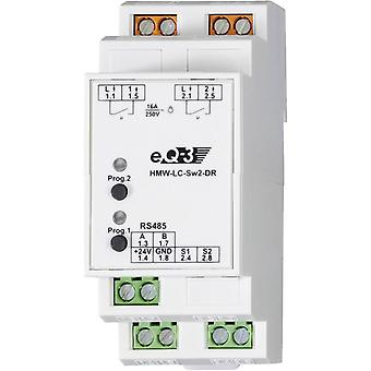 HomeMatic RS485 switching actuator 76801 2-channel