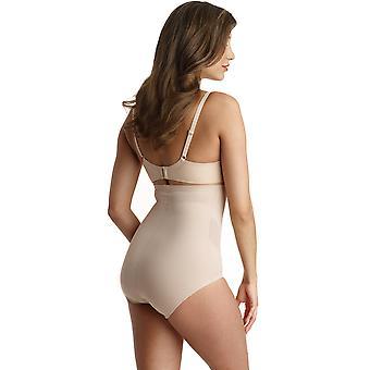عارية Shapewear اللون الصلبة عالية الخصر قصيرة نعومي ونيكول 7425 المرأة