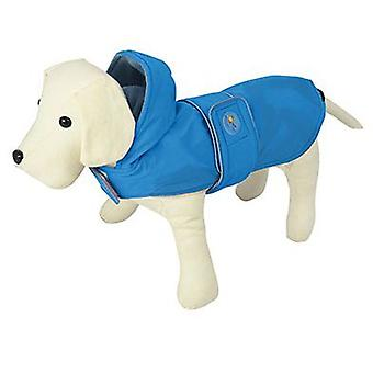 Nayeco Raincoat Dog Dancing Rain Blue 80 cm (Dogs , Dog Clothes , Raincoats)