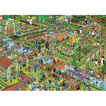 Jan Van Haasteren Vegetable Garden Jigsaw Puzzle (1000 sztuk)