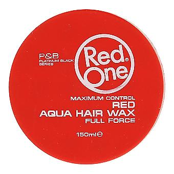 Rode één rode Aqua Hair Wax 150ml