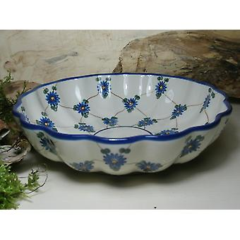 Dish, with a wavy margin, Ø 24 cm, height 6 cm, tradition 8, BSN 5606