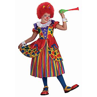 Clown Princess Circus Funny Dress Up Girls Costume