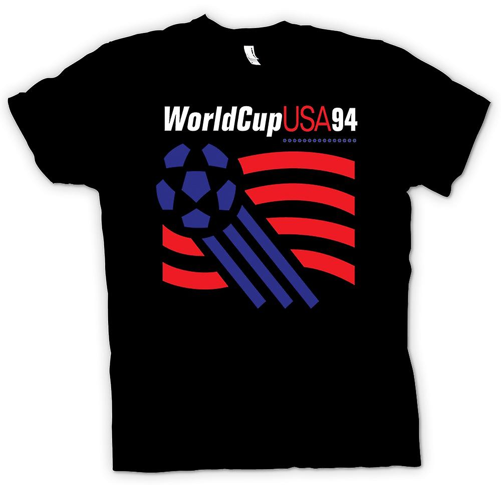 Mens T-shirt - World Cup USA 94 - Soccer Football
