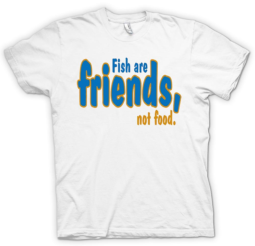 Womens T-shirt - Fish Are Friends, Not Food - Funny Quote