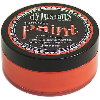 Dylusions By Dyan Reaveley Blendable Acrylic Paint 2oz-Postbox Red