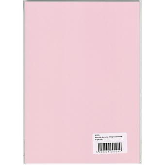 Hunkydory Adorable Scorable A4 Cardstock-Sugar Pink