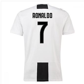 2018-19 Juventus Home Shirt (Ronaldo 7) - Kids