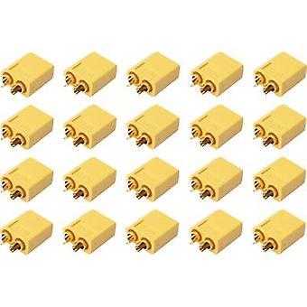 Computador (es) plug banhado a ouro XT60 20 de bateria Reely