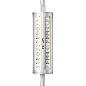 Philips Lighting LED EEC A+ (A++ - E) R7s Tubular 14 W = 100 W Warm white (Ø x L) 29 mm x 118 mm dimmable 1 pc(s)