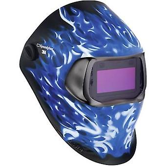 Welders hard hat SpeedGlas 100V Ice Hot H752520 EN 379 , EN 166 , EN 175 , EN 169