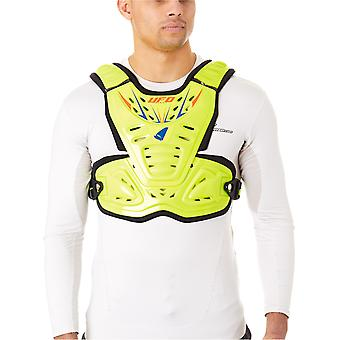 UFO Fluo Yellow Reactor 2 Evolution MX Chest Protector